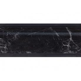 Плинтус Rehau 118 98104 Мрамор черный мм 4200