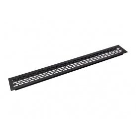 Заглушка вентиляционная GIFF L484 H60 черный