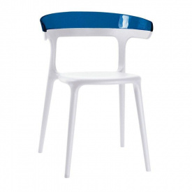 Кресло Papatya Luna Бело-синий