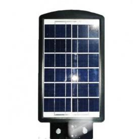 Уличный светодиодный фонарь UKC аккумуляторный с пультом 30w 7141 Черный