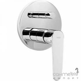 Змішувач для ванни вбудовуваний Tres Flat-Tres 204.180.01 Хром