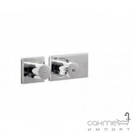 Встраиваемый термостат для ванны/душа два выхода Tres Tresmostatic 207.352.99 Хром
