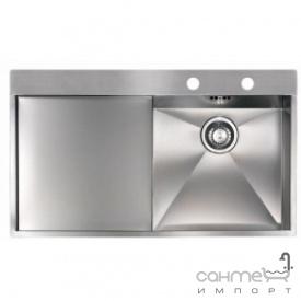 Кухонна мийка Reginoх Ontario 10 RIGHT (правобічна) Нержавіюча Сталь