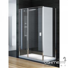 Прямокутна душова кабіна New Trendy Perfecta EXK-1187 / EXK-1189 прозоре скло