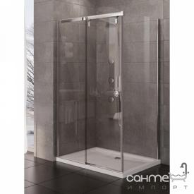 Прямокутна душова кабіна New Trendy Porta P EXK-1138 / EXK-1109 права прозоре скло