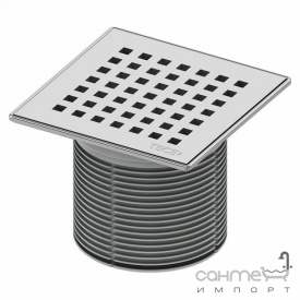 Вставка з гратами quadratum 150 мм TECE TECEdrainpoint S 366 00 08