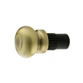 Заглушка трубы-рейлинга d=16 Lemax Ретро бронза RAT-15