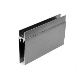 Горизонтальный профиль нижний Slider усиленный графит мм 5000
