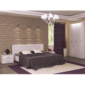Спальний гарнітур Белла білий глянець 1