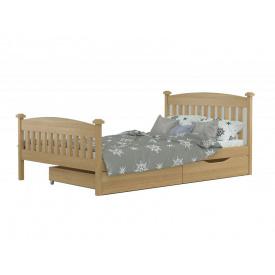 Кровать Фиби масив бука 120x190