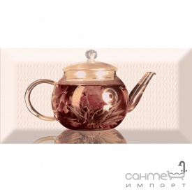Плитка керамическая декор Absolut Keramika TEA Decor 01A 10x20