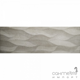 Настінна плитка декор 25х75 Colorker District Taupe Calma сіра