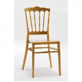 Штабелируемый стул Наполеон SDM пластиковый Золотой