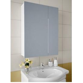 Шкаф зеркальный Garnitur.plus в ванную без подсветки 54NS (DP-V-200216)