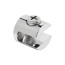Кріплення для скляній полиці циліндричне GIFF хром