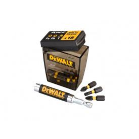 Набор бит DeWALT EXTREME FlexTorq IMPACT с телескопическими битодержателями и битами 16 ед. DT70577Т