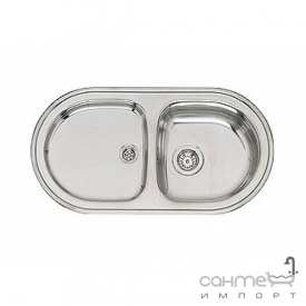 Кухонна мийка, виразний стандартний монтаж Reginoх OE 935 DO A Нержавіюча Сталь