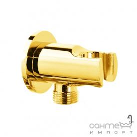 Шлангове під'єднування з утримувачем для душу Fiore Accessori 35 PMSO O1 золото