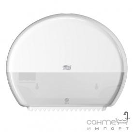 Диспенсер для туалетного паперу Tork Elevation 555000 білий пластик