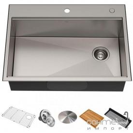 Кухонная мойка Kraus Kore KWT310-30 762х559 нержавеющая сталь