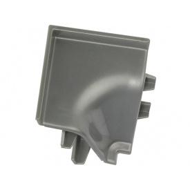 Угол к плинтусу Rehau 118 90* 98656 Серый металлик-внутренний
