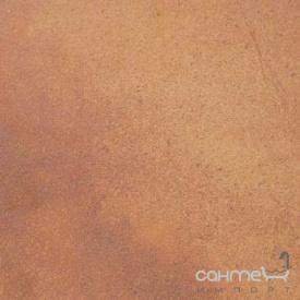 Клинкерная плитка база 33x33 Gres de Aragon Valle Aran бежево-красная