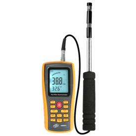 Термоанемометр професійний USB 0,3-30 м / с 0-45 градус C BENETECH GM8903