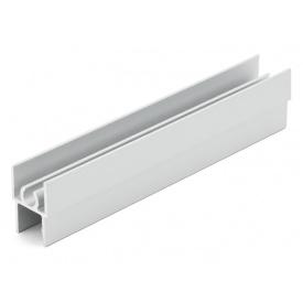 Горизонтальный профиль верхний Slider Project мм 5000 серебро