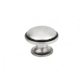 Ручка кнопка Virno Antique 635 античне срібло