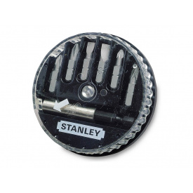 Набор бит STANLEY S - 5.0 мм 6.5 мм - Ph 0 1 2 - Pz 1 2 + держатель 7 ед. 1-68-737