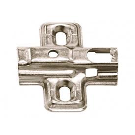 Планка для петли монтажная Hafele METALLA SM P мм 0 311.71.500