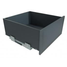 Выдвижной ящик с отталкивателем GIFF PRIME FlatBox мм 450 мм 199 графит