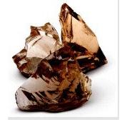 Стеклянные камни коричневые AMBRA 80-120