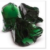 Стеклянные камни темно-зеленые VERDE DARK 80-120
