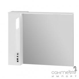 Зеркальный шкаф Ювента Trento TrnMC-100 левый белый