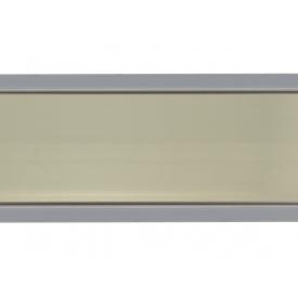 Плинтус кухонный Linken System треугольный INOX мм 30 мм 4000