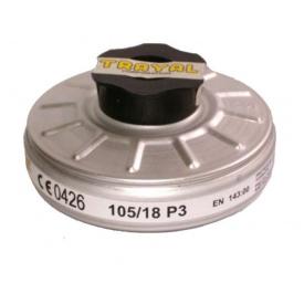 Фильтр противопылевой TRAYAL P3