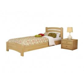 Ліжко Венеція Люкс 80х200 з бука щита