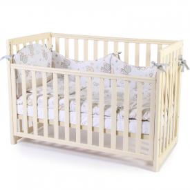 Детская кроватка Соня ЛД13 слоновая кость