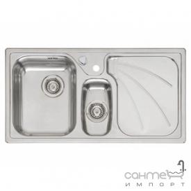 Кухонна мийка, виразний стандарнтий монтаж Reginoх President LEFT (лівостороння) Нержавіюча Сталь