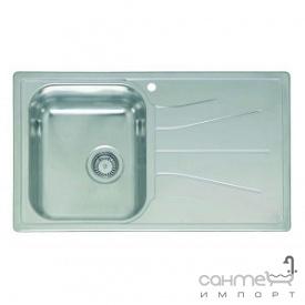 Кухонна мийка, виразний стандарнтий монтаж Reginoх Diplomat 10 DECOR LEFT (лівостороння) Нержавіюча Сталь