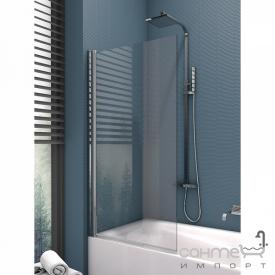 Шторка для ванни New Trendy Ikari 70 EXK-1190 прозоре скло
