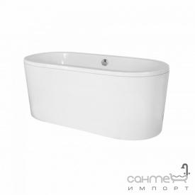 Отдельностоящая ванна из композита с сифоном Besco Victoria 160x75 белая
