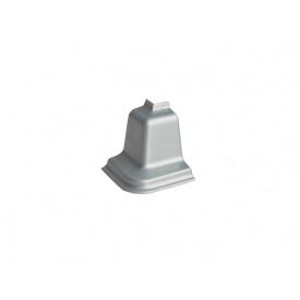Угол к плинтусу Rehau 127 90* 98114 Алюминий-внешний