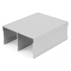 Направляющий профиль верхний Slider усиленный серебро мм 5000