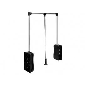 Лифт-пантограф GIFF 600-860 нагрузка 10 кг Soft stop хром/черный