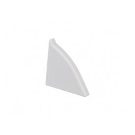 Заглушка к плинтусу Egger AC18 серый левая 884456