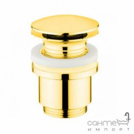 Донный клапан Click-Clack без перелива Bugnatese Accessori RICDO19287 золото