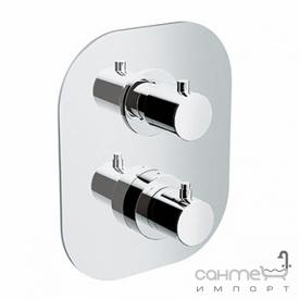 Змішувач-термостат для ванни/душа на 2 положення Eurorama PE750030A хром