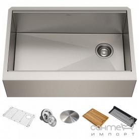 Кухонная мойка Kraus Kore KWF410-30 759х514 нержавеющая сталь